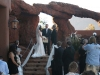 Wedding Ceremony at a home in the Cliffs in Ivins