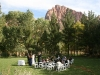 Wedding Ceremony at Cliffrose in Springdale by Zion
