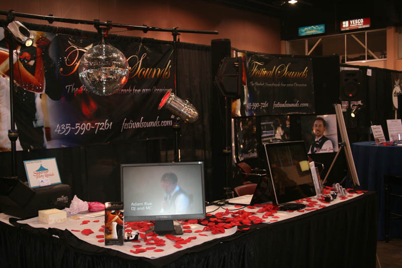 Our booth at the show