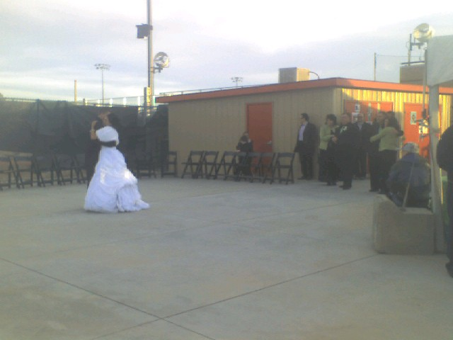 First Dance at Bruce Hurst Field